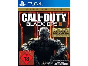 Activision Blizzard Call of Duty 12 - Black Ops 3 (Gold Edition) - Konsole PS4