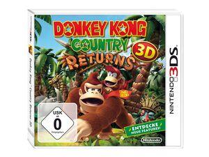 Nintendo Donkey Kong Country Returns 3D Selects, für 1- 2 Spieler, USK 0