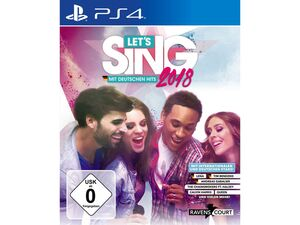 Koch Media Let's Sing 2018 - Mit Deutschen Hits! - Konsole PS4