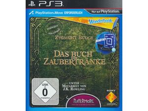 Sony Interactive Entertainment Das Buch der Zaubertränke (Wonderbook) - Konsole PS3