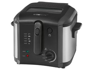 CLATRONIC Fritteuse »FR 3649«, 2,5 l Kapazität, mit stufenlos regelbarem Thermostat