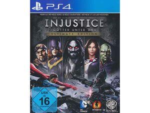 WARNER BROTHERS Injustice: Götter unter uns (Ultimate Edition) - Konsole PS4