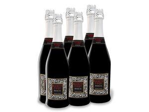 6 x 0,75-l-Flasche Weinpaket Brachetto d'Acqui DOCG rot süß, Schaumwein