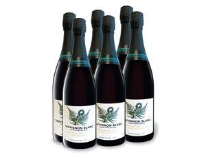 6 x 0,75-l-Flasche Sauvignon Blanc Marlborough brut, Schaumwein mit zugesetzter Kohlensäure