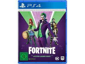 WARNER BROTHERS Fortnite - Letzter-Lacher-Paket (Code in a Box) - Konsole PS4