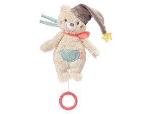 Fehn Spieluhr »Bär«, Kuscheltier und Einschlafhilfe mit sanfter Melodie