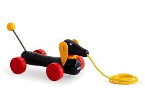 BRIO 30332 »Dachshund«, klassisches Nachziehspielzeug, ab 1 Jahr