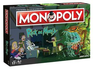 Winning Moves Monopoly - Rick & Morty - Gesellschaftsspiele