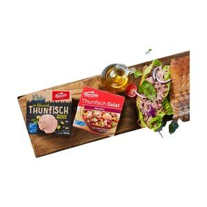 Hawesta MSC Thunfischinspiration getrocknete Tomate oder Zitrone-Thymian und weiter Sorten, jede 160-g-Dose