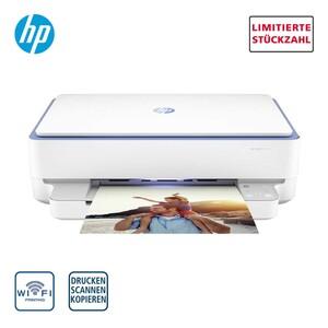 ENVY 6010 Multifunktionsdrucker · drucken, scannen, kopieren · Wireless-Druck  · Automatischer beidseitiger Druck · Druck über WLAN, AirPrint, HP Smart App  · bis zu 10 Seiten/Minute  *Logo: Ic