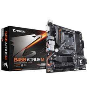 Gigabyte B450 AORUS M mATX Mainboard Sockel AM4 M.2/HDMI/DVI