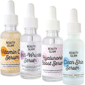 BEAUTY GLAM Gesichtspflege-Set »Beauty Glam Serum Addiction« Set, 4-tlg.