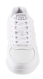 TOMMY HILFIGER »LIGHTWEIGHT LEATHER SNEAKER« Sneaker mit Futter aus recycled Polyester