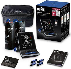 Braun Oberarm-Blutdruckmessgerät ExactFit™ 5 Connect BUA6350, mit 2 Manschettengrößen (22-42cm)