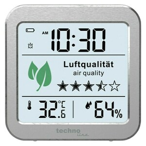 Technoline Luftqualitätsmonitor WL1020
