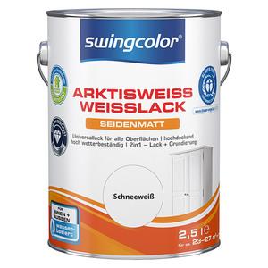 swingcolor Weißlack Arktisweiß