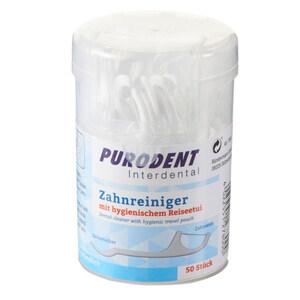 Purodent Zahnseidesticks 50 Stück