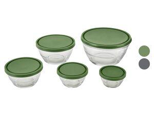 ERNESTO® Schalenset, 5 Stück, aus Glas