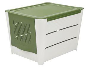 ERNESTO® Kartoffelaufbewahrungs-Box, mit Frontklappe