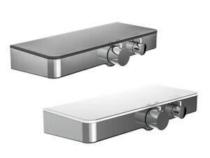 Schütte Thermostat Duscharmatur »Ocean«, mit Design-Ablage, anthrazit oder weiß