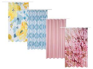MIOMARE® Duschvorhang, mit Befestigungsringen