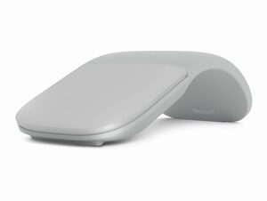 Microsoft Surface Arc Mouse, Bluetooth-Maus, Platin Grau