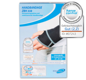 DITTMANN Zahoprene-Hand-Bandage