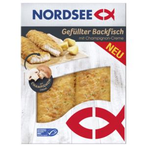 Nordsee Gefüllter Backfisch Champignon-Creme 170g