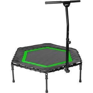 SPORTPLUS Fitness Trampoline mit patentiertem Klappmechanismus SP-T-111F-Grün