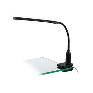 """Eglo              LED-Klemmleuchte """"Laroa"""", schwarz"""