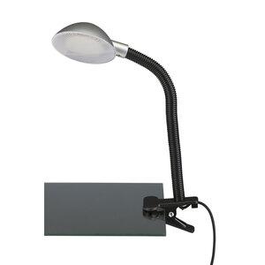 Briloner              LED-Klemmleuchte, titan-silber
