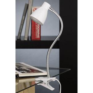 Briloner              LED-Klemmleuchte, weiß