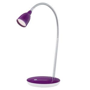 "Eglo              LED-Tischleuchte ""Durengo"", purple⁄chrom"