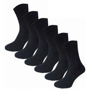 Garcia Pescara 12 Paar Classic Socken aus Baumwolle in schwarz, Größe 39-42