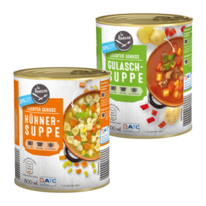 LA FINESSE  	   				Leichte Suppe