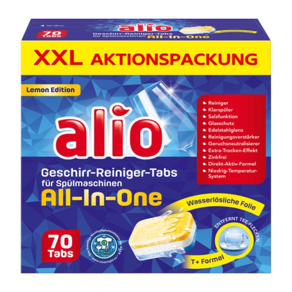 ALIO     Geschirr-Reiniger-Tabs All-In-One
