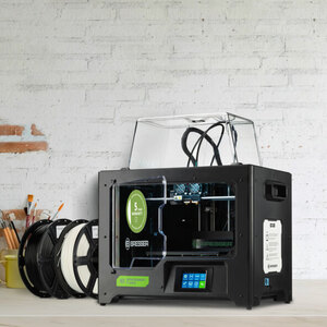 3D WLAN-Drucker Bresser T-REX mit Twin Extruder