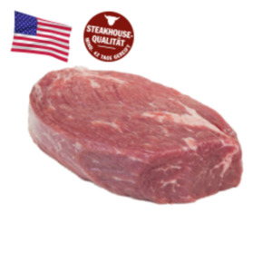 US Black Angus Beef frische Hüftsteaks