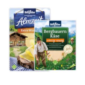 Bergader Bergbauern-Käse oder Almzeit