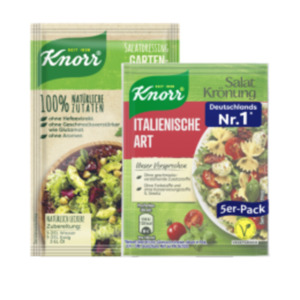 Knorr Salatkrönung oder Salatdressing natürlich lecker