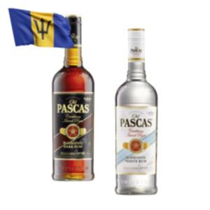 Old Pascas Barbados White oder Dark Rum