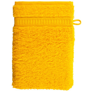 Waschhandschuh KRONBORG® de Luxe (16x21, gelb)