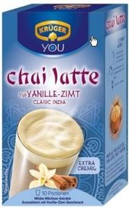 Krüger Chai Latte Classic India Typ Vanille-Zimt 10ST 250G