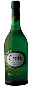 Croft Original Fine Pale Cream Sherry 0,75 ltr