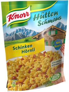 Knorr Hüttenschmaus Schinken Hörnli 156 g