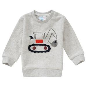 Baby Sweatpullover mit Bagger-Motiv