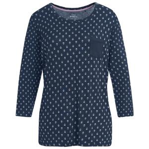 Damen Schlafshirt mit Allover-Print