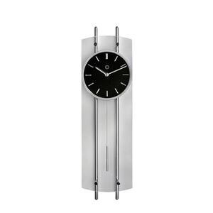 XXXLutz Wanduhr schwarz , 8032 - Marseille Pendeluhr , Metall , 63x18x5.5 cm , 0085870345