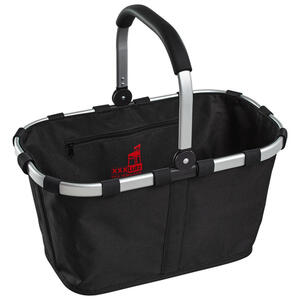 Reisenthel Carrybag schwarz , Bk7003S , Schwarz , Metall, Textil , 22 L , 48x29x28 cm , faltbar , 0035550248