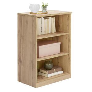 Xora Regal eichefarben , Easy , Holzwerkstoff , 2 Fächer , 55x84x36 cm , Nachbildung , Beimöbel erhältlich , 000017003321